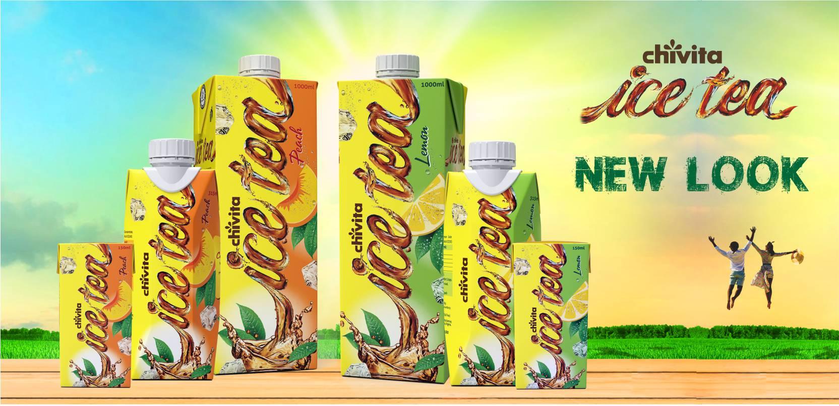 New Launch Chivita Ice Tea Pack